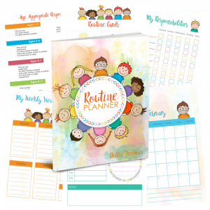 Routine Planner - Organize your day with a natural rhythm of your home. | www.shop.joyinthehome.com