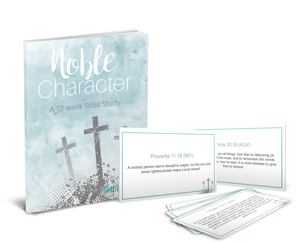 Noble Character A 12-Week Bible Study & Bible Cards